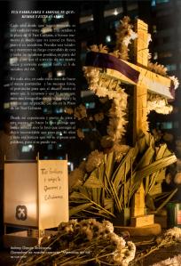 """Foto y texto ganador del Concurso """"Memorias del 68"""", publicado para edición de Octubre 2014 en la revista digital NAB-VIEW"""
